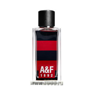 A&F 1892 Collection Red