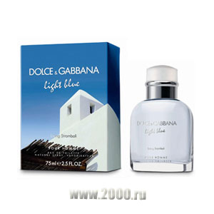 D&G Light Blue Living Stromboli Pour Homme от Dolce & Gabbana Туалетная вода 75 мл