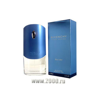 Givenchy pour homme Blue Label от Givenchy Туалетная вода 50 мл Тестер