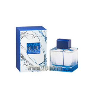 Antonio Banderas Splash Blue Seduction for Men туалетная вода